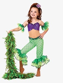 Girls A Part of Your World Camisole Performance Unitard