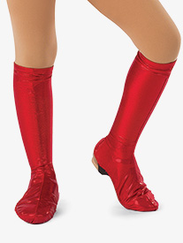 Girls Performance Metallic Boot Covers