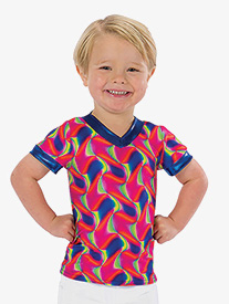 Boys Jump Start Psychedelic Performance Top