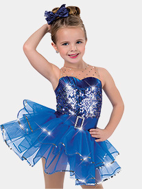 Girls Shimmer Tank Performance Tutu Dress