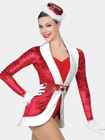 Girls Holiday Spectacular Two-Tone Performance Leotard