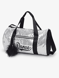 Sequin Dance Duffle Bag
