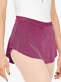 Womens Short Pull-On Ballet Skirt