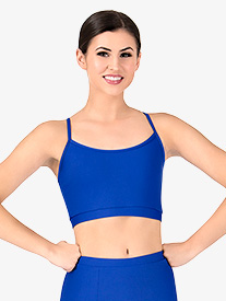 Womens Team Basic Compression Camisole Bra Top
