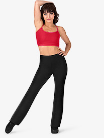 Womens Team Basic Compression Boot Cut Jazz Pants