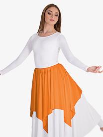 Girls Convertible Skirt & Shoulder Worship Drape