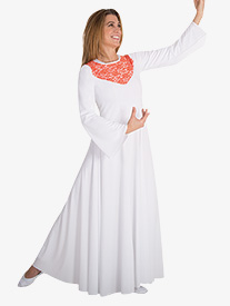 Girls Bell Sleeve Worship Dress