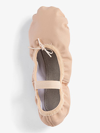 Child Full Sole Leather Ballet Shoes