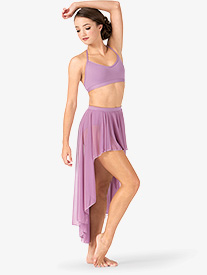 Adult Drapey High-Low Dance Skirt