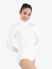 d83e04429 Girls ProWEAR Long Sleeve Zip Back Turtleneck Leotard