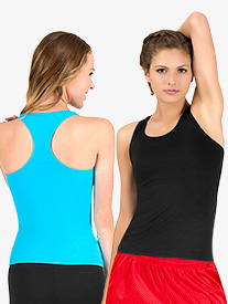 Adult Basic Racerback Tank Top