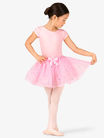 Girls Millie Foil Dot Tutu