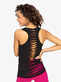 Adult Tank Top with Slit Back