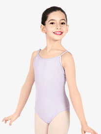Girls V-Back Camisole Leotard