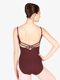 Adult Camisole Leotard with Multi-Strap Back