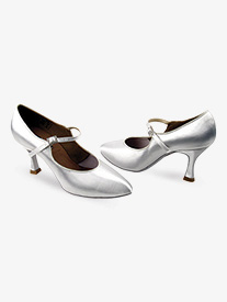 Ladies Flared Heel Standard/Smooth- Competitive Dancer Ballroom Shoes