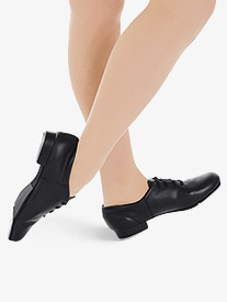 Adult Fluid Lace Up Tap Shoes