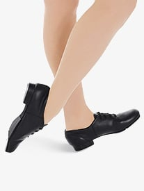 Child Fluid Lace Up Tap Shoes