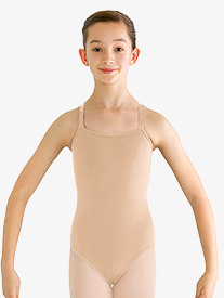 Girls Adjustable Camisole Leotard