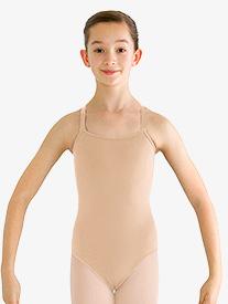 Girls Adjustable Camisole Leotard