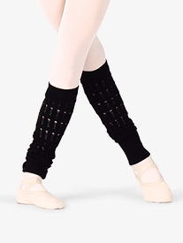 Girls Viletta Textured Knit Leg Warmers