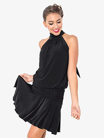 Womens Jackie Halter Ballroom Dance Dress