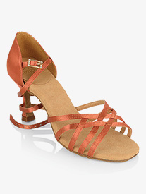 Womens Kalahari Buckle Satin Ballroom Dance Shoes