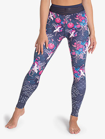 Womens Geisha Girl Printed Dance Leggings
