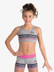 Girls Disney Minnie Mouse Sport Shorts