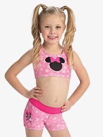 Girls Disney Starring Minnie Mouse Shorts