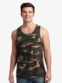 Mens Cotton Ringer Tank Top