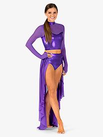 Womens Long Sleeve 2-Piece Performance Set