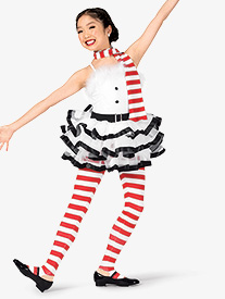 Girls Frosty Three-Tone Character Dance Costume Set