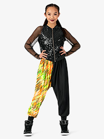 Womens Performance Blaze Dual Print Jogger Pants
