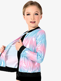 Girls Performance Beats Pastel Tie-Dye Jacket