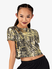 Womens Performance Freestyle Tie Back Crop Top