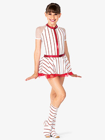 Girls Baseball Character Dance Costume Set