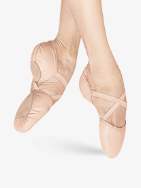 Adult Elastosplit X Leather Split-Sole Ballet Shoes