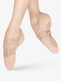 Adult Elastosplit X Canvas Split-Sole Ballet Shoes