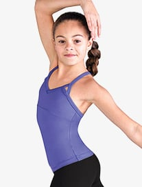 Girls Daisy Mesh Dance Camisole Top