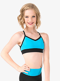 Girls Triangle Back Camisole Bra Top