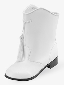 Girls Gotham Majorette Boot White