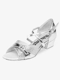 Girls Latin/Rhythm Ballroom Shoes