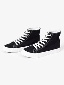 Womens Hi-Top Canvas Dance Sneaker