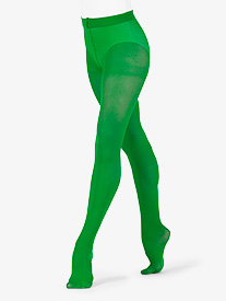 Womens Footed Nylon Dance Tights