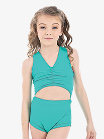 Girls Lilly K Crown Jewel Tank Leotard