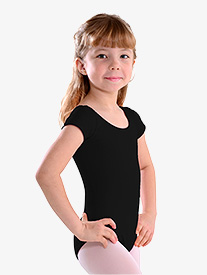 Girls Cap Sleeve Leotard