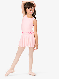 8c0e560cb Girls Polka Dot Pull-On Ballet Skirt (Style: M1008)