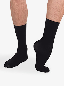 Mens Supplex TotalSTRETCH Dance Sock