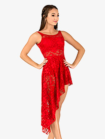 Adult Emballe Long Lace Overdress